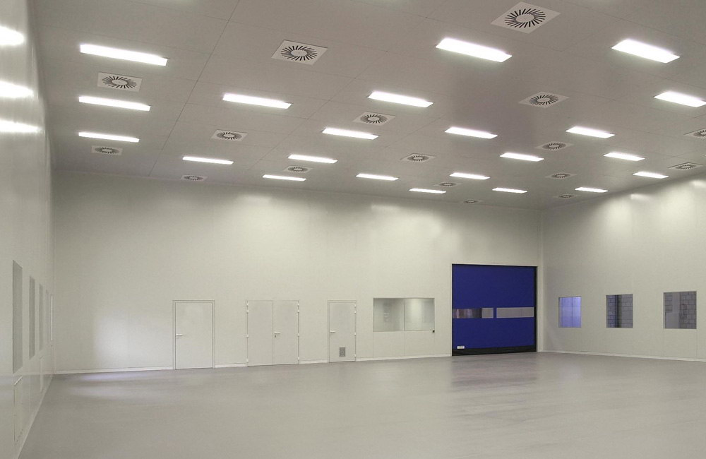 Clean room in qualification state for Clean room design qualification